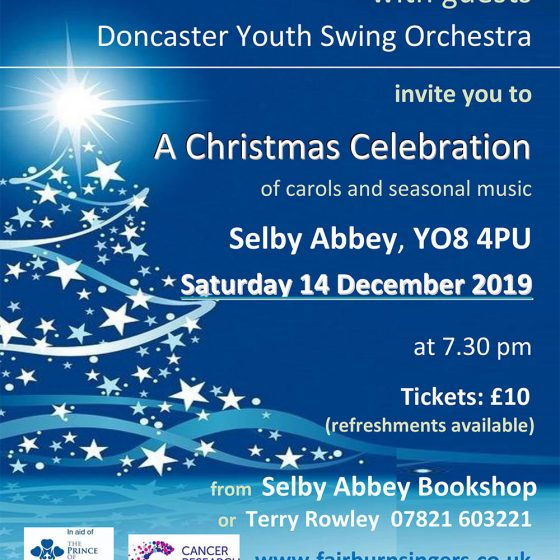 The Fairburn Singers Christmas Concert at Selby Abbey