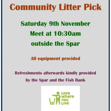 Community Litter Pick