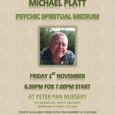 Psychic Evening at Peter Pan Nursery