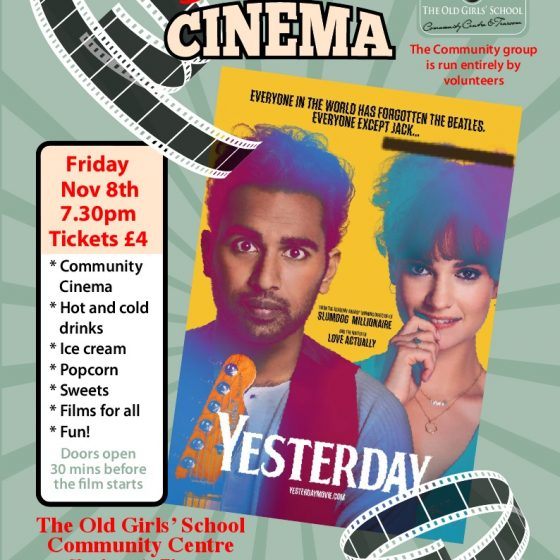 Sherburn Community Cinema – Yesterday