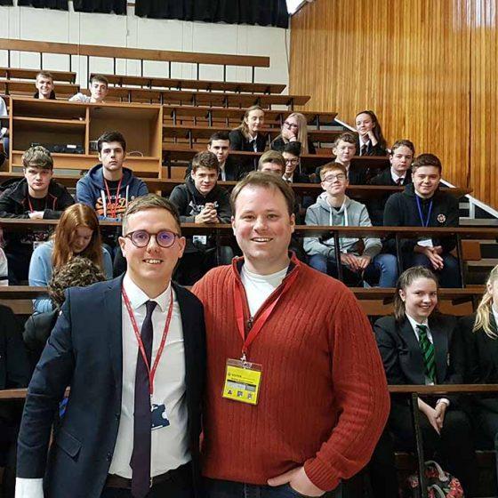 Cambridge Fellow Visits Sherburn High