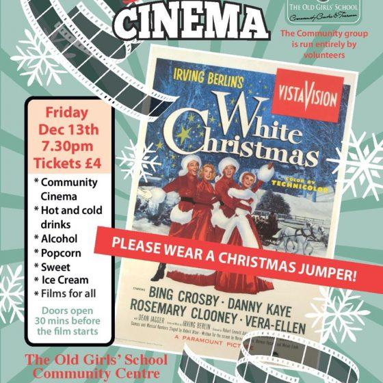 Sherburn Community Cinema – White Christmas