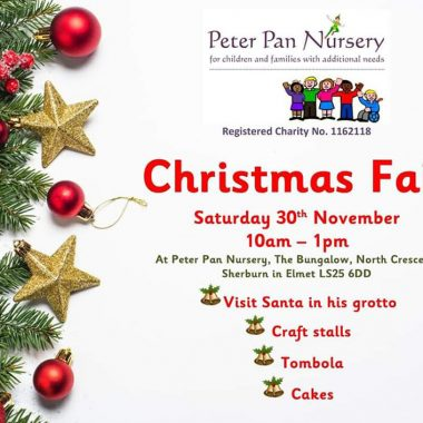 Peter Pan Nursery Christmas Fair