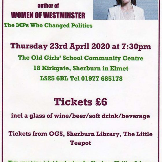 A talk with Rachel Reeves MP