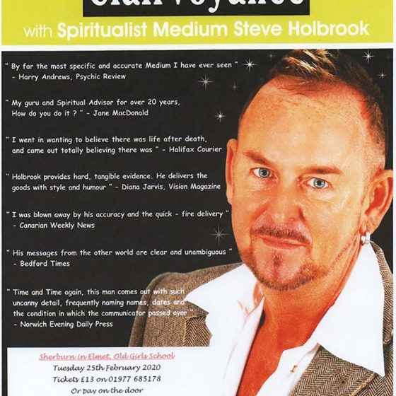 An Evening of Clairvoyance – *SOLD OUT*