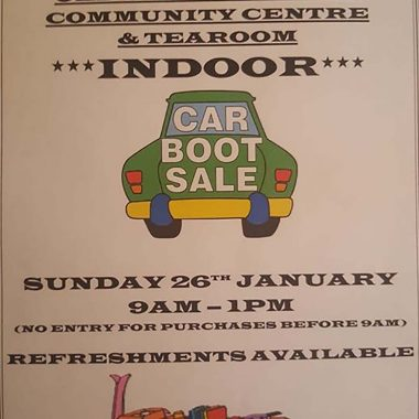 Indoor Car Boot Sale at the Old Girls' School