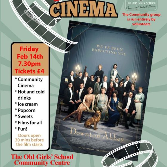 Sherburn Community Cinema – Downton Abbey *SOLD OUT*