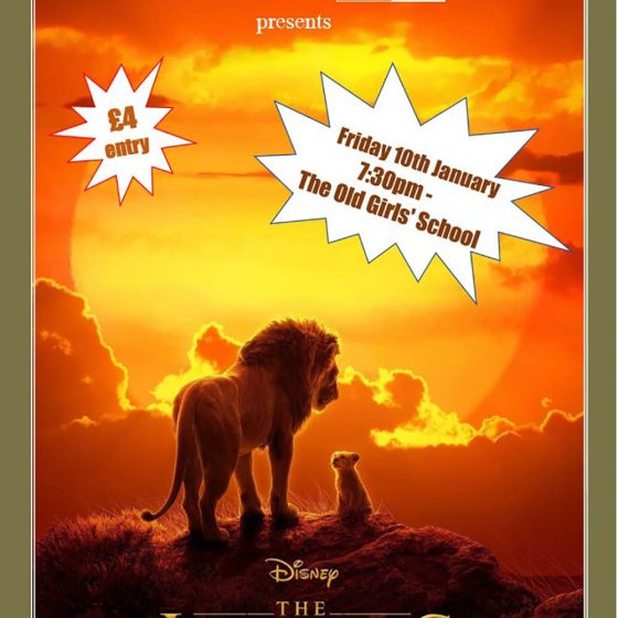 Sherburn Community Cinema – The Lion King (2019)