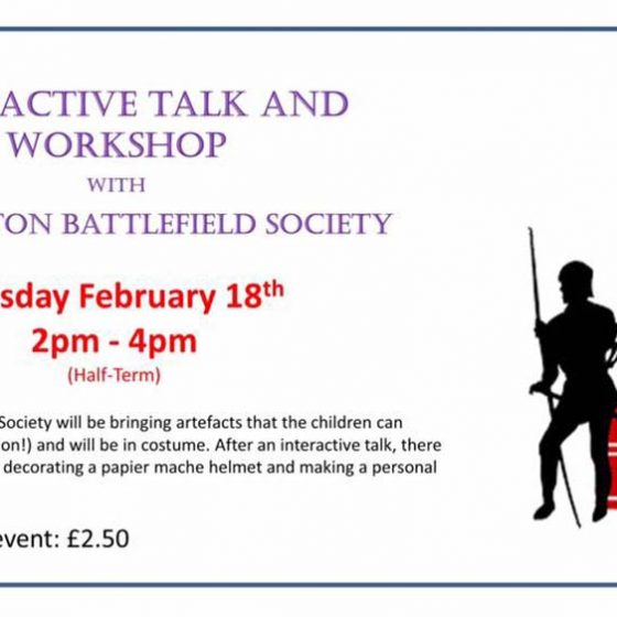 Towton Battlefield Talk and Workshop
