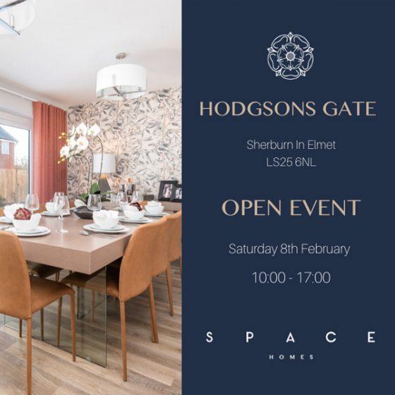 Hodgsons Gate Open Event