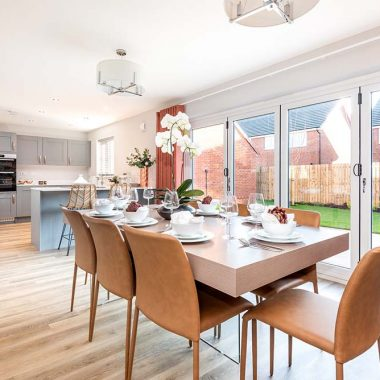 Show home now open at Hodgsons Gate