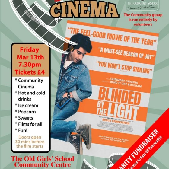 Sherburn Community Cinema – Blinded By The Light
