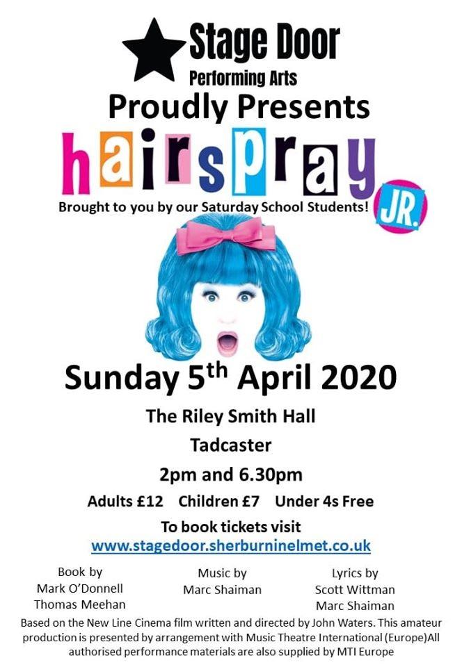 Stagedoor Performing Arts - Hairspray JR