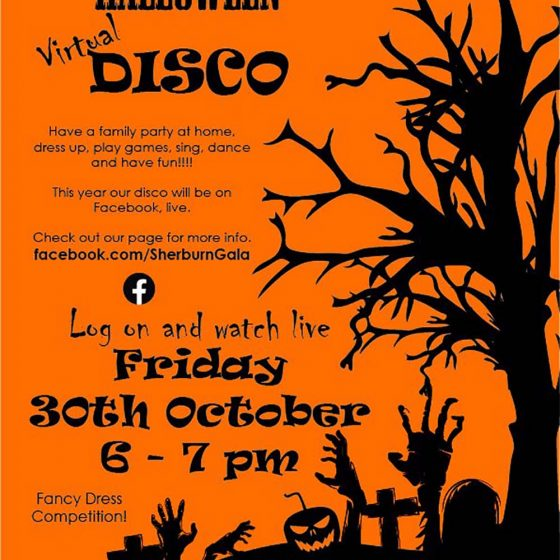 Gala Virtual Halloween Disco