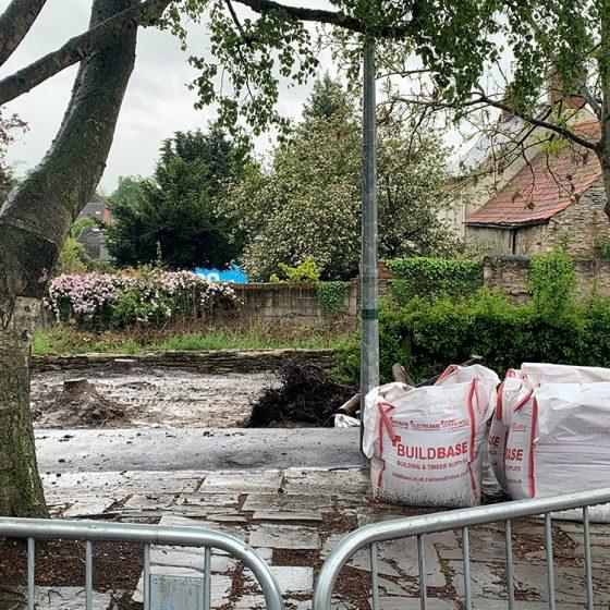 Sherburn in Elmet 'Pocket Park' Refurbishment
