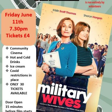 The Sherburn Community Cinema - 'Military Wives'