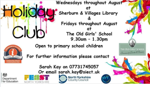 The Old Girls' School and Library Holiday Club