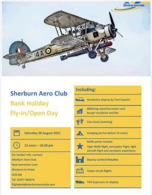 Sherburn Aero Club Bank Holiday Fly-in/Open Day