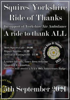 Squires Yorkshire Ride Of Thanks