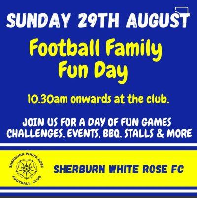 Football Family Fun Day at Sherburn White Rose Football Club