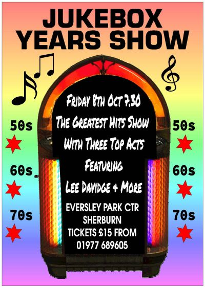 Jukebox Years Show at the Eversley Park Centre