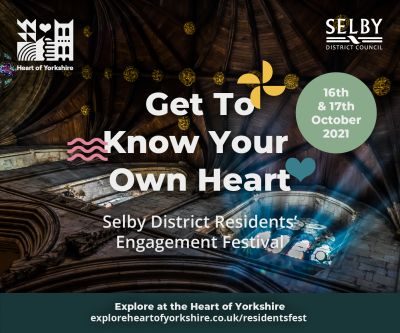 Residents of Selby District are encouraged to be local tourists for the weekend